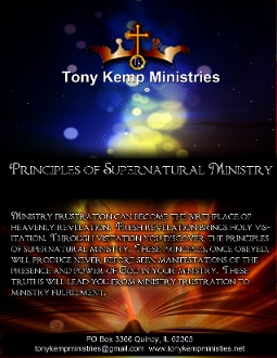 Principles of Supernatural Ministry